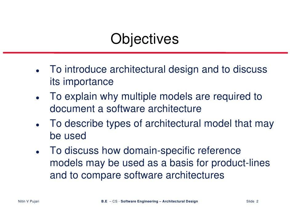 ... Architectural Design Slide 1; 2.