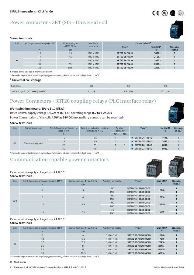 Be siemens price list 03 02-2012