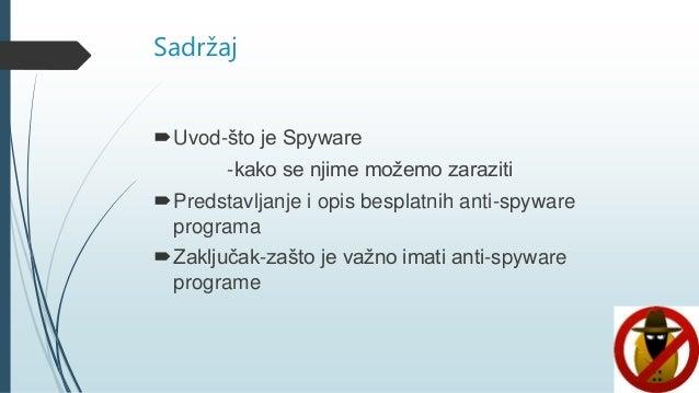 Besplatni anti spyware programi