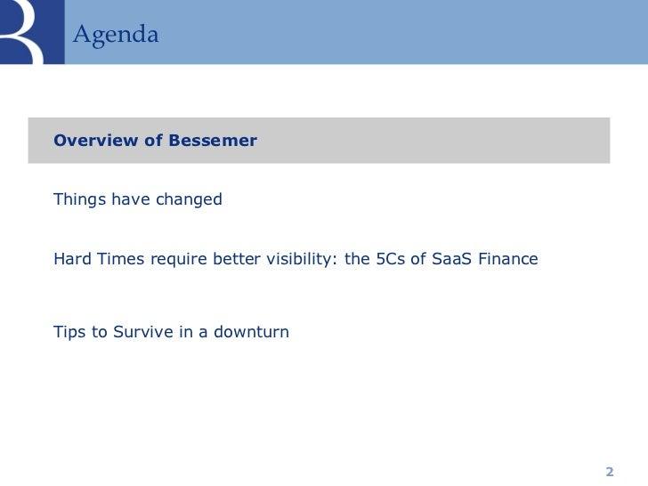 Bessemer 5 Cs of SaaS Finance Slide 2