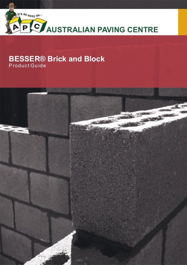 Besser brickal for Besser block home designs