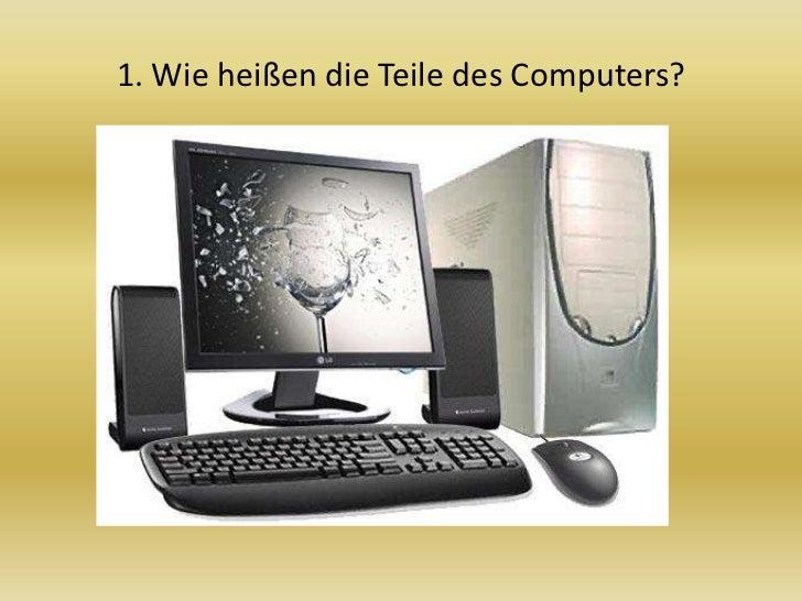 Computer besser kennenlernen