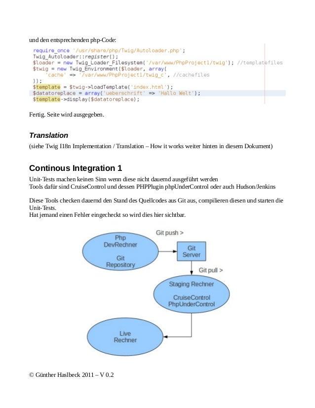 und den entsprechenden php-Code:Fertig. Seite wird ausgegeben.Translation(siehe Twig I18n Implementation / Translation – H...