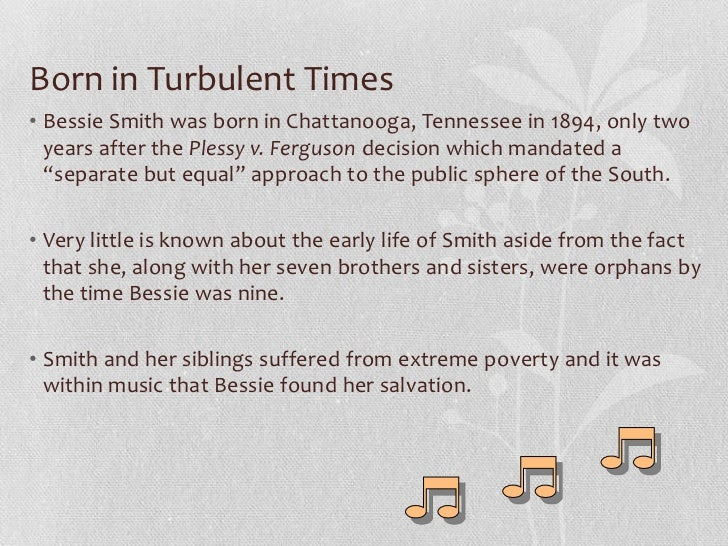 """Bessie Smith: The Rough and Tumble """"Empress of Blues"""" Slide 2"""
