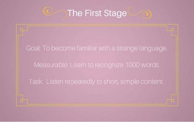 English In Italian: Learn A Language Faster In 3 Easy Stages