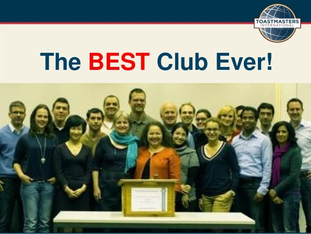 The BEST Club Ever!