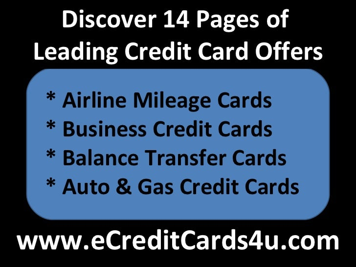 Best discover card deals