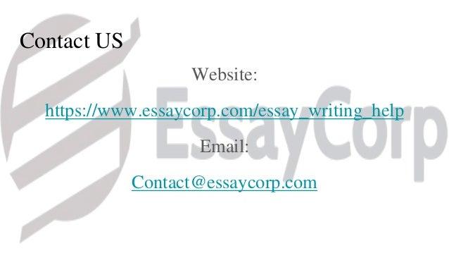 Essay writing help service