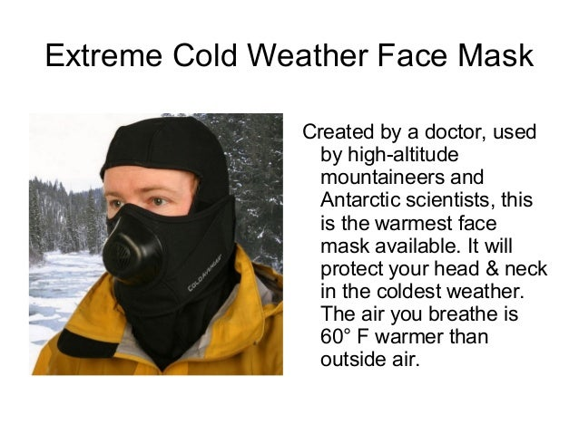 Best Extreme Cold Weather Gear & Clothing