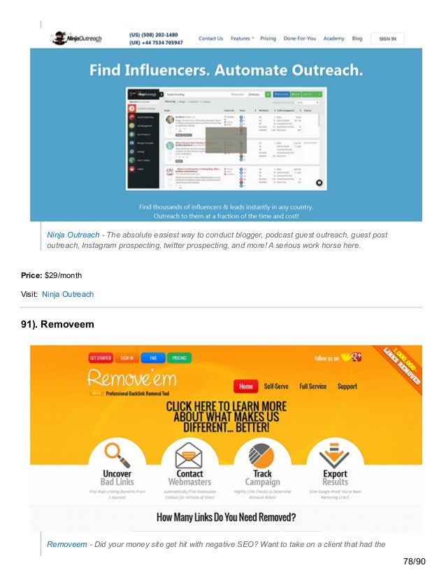 Ninja Outreach - The absolute easiest way to conduct blogger, podcast guest outreach, guest post outreach, Instagram prosp...