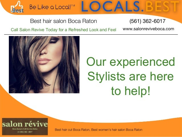 Best hair salon Boca Raton