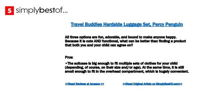 40 travel buddies hardside luggage set