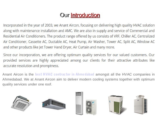Best Quality HVAC in Affordable Price - Anant Aircon Slide 2