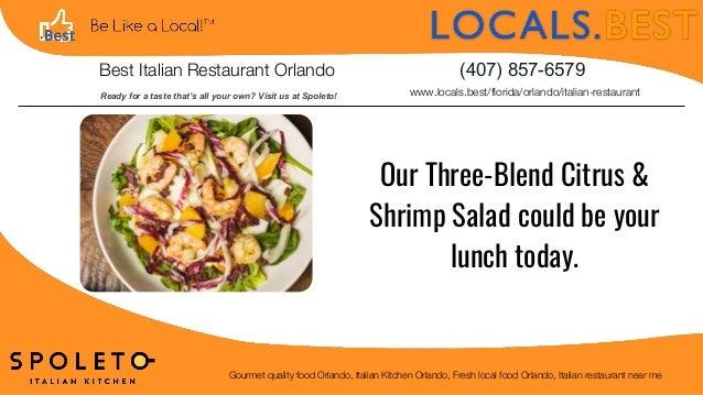 Best Italian Restaurant Orlando