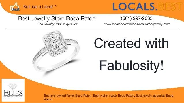 Best Jewelry Store Boca Raton