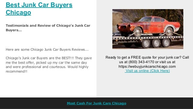 Best Junk Car Buyers Chicago
