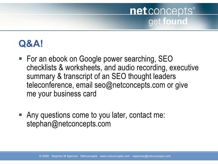 best kept secrets to search engine optimization success