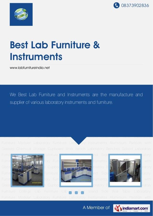08373902836A Member ofBest Lab Furniture &Instrumentswww.labfurnitureindia.netLaboratory Furniture Modular Laboratory Furn...