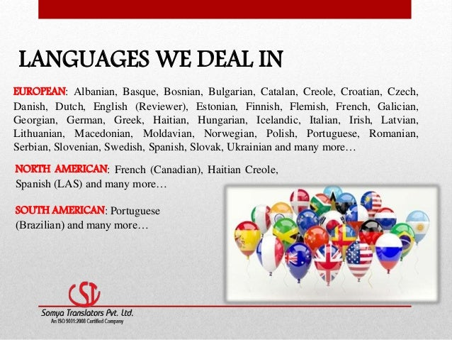 Best language translation services- Our linguistic services (STPL)