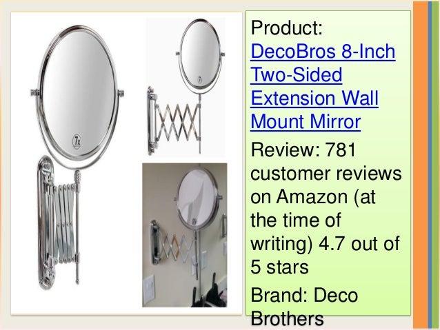 Best Lighted Wall Makeup Mirror Mirror Ideas