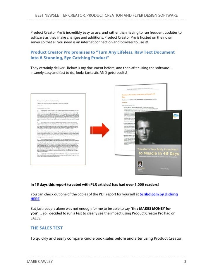 BEST NEWSLETTER CREATOR, PRODUCT CREATION AND FLYER DESIGN SOFTWARE