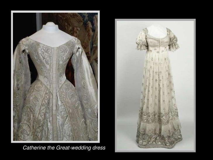 Catherine The Great Wedding Dressbr