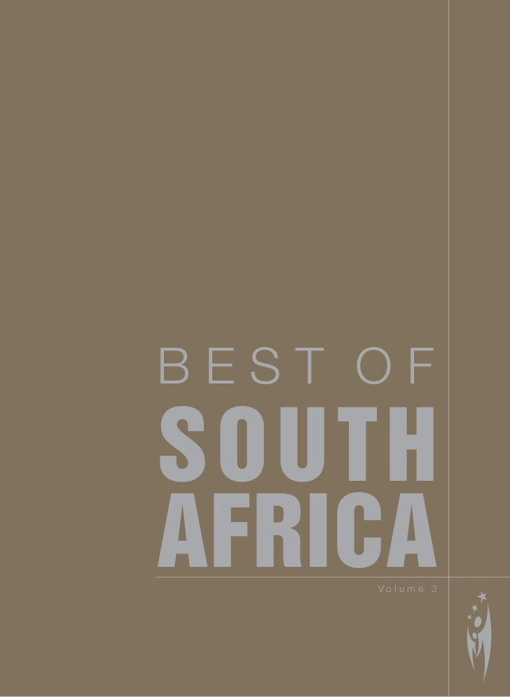 BEST OF SOUTH AFRICA      Volume 3