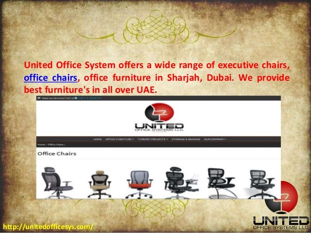 Best office chairs at affordable price in uae for Affordable furniture uae
