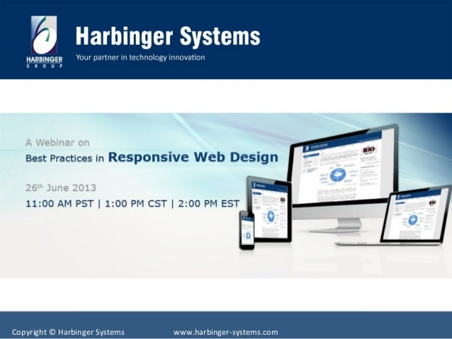 Copyright © Harbinger Systems www.harbinger-systems.com