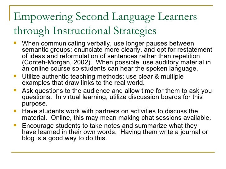 Best Practices Library Instruction For Diverse Learners
