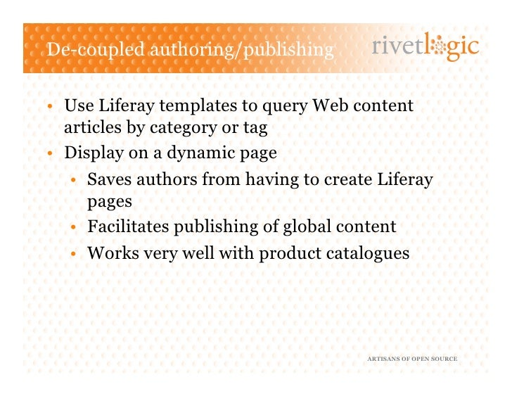 how to create web content in liferay