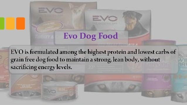 Evo Dog Food Ingredients