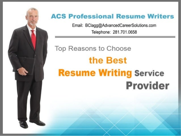Top Reasons to Choose the Best Resume Writing Service Provider