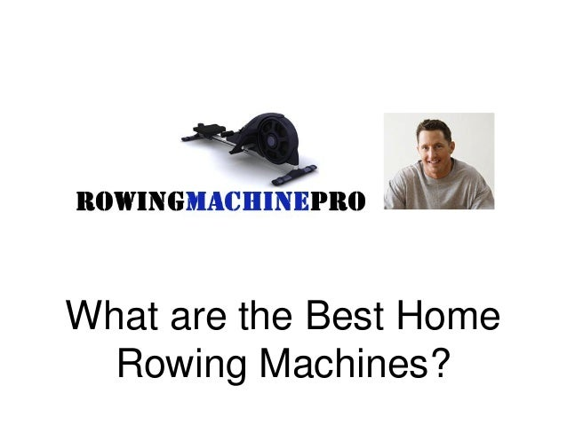 what is the rowing machine for