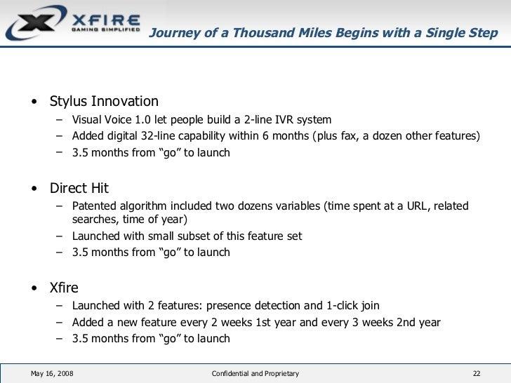 Journey of a Thousand Miles Begins with a Single Step <ul><li>Stylus Innovation </li></ul><ul><ul><li>Visual Voice 1.0 let...