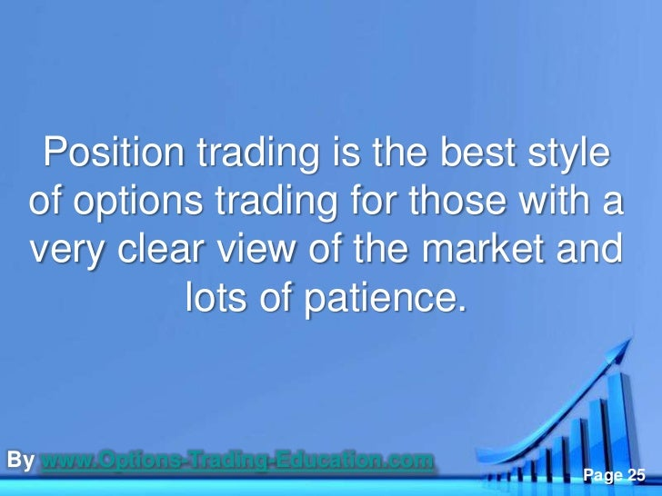 Best options trades now