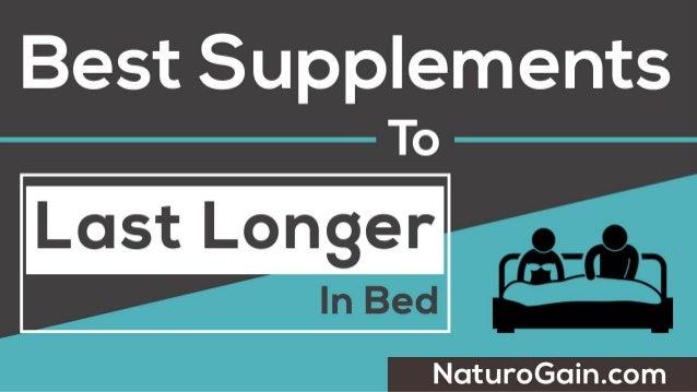 Pills to longer Best in bed last