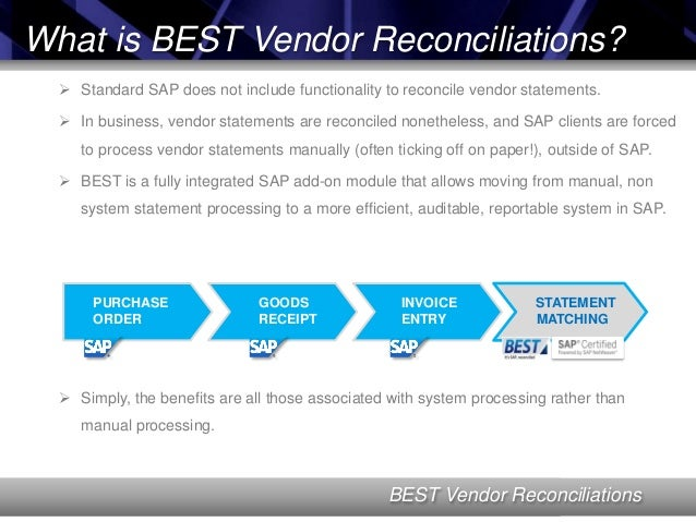 supplier reconciliation template - vendor reconciliation in sap