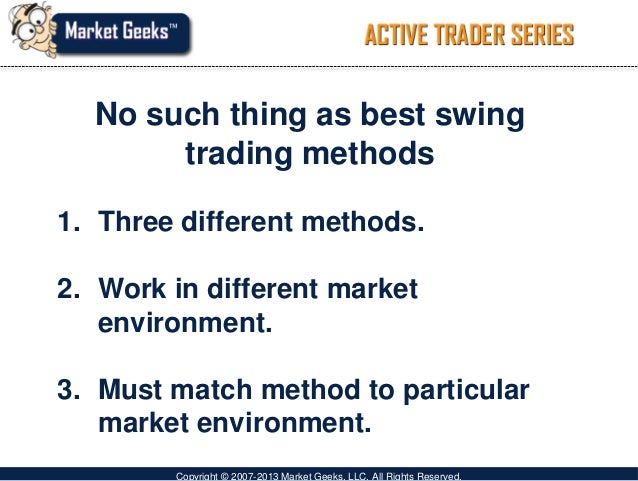 Swing trading system ppt
