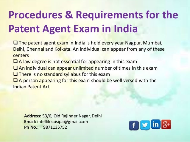 how to prepare for patent agent exam