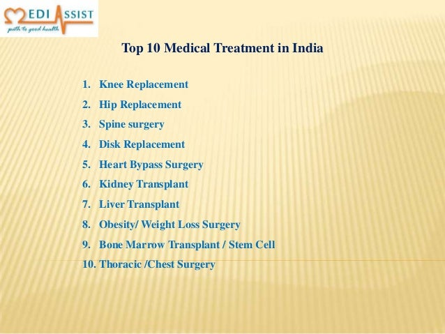 Top 10 Medical Treatment in India