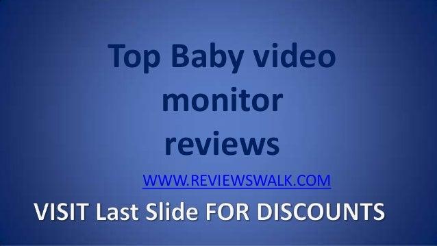 Top Baby video monitor reviews WWW.REVIEWSWALK.COM