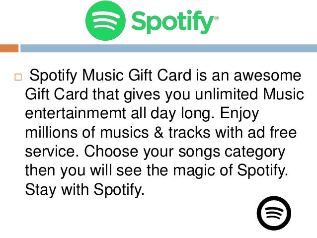 how to buy spotify premium with itunes gift card