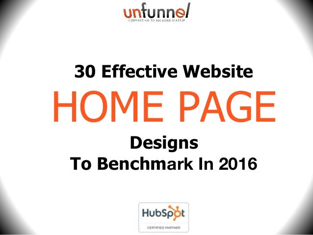 30 Effective Website HOME PAGE Designs To Benchmark In 2016