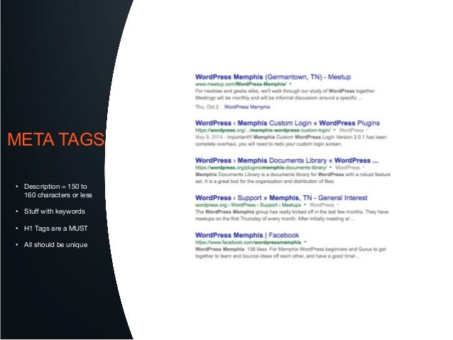 Optimize your WordPress for SEO in 2014 slideshare - 웹