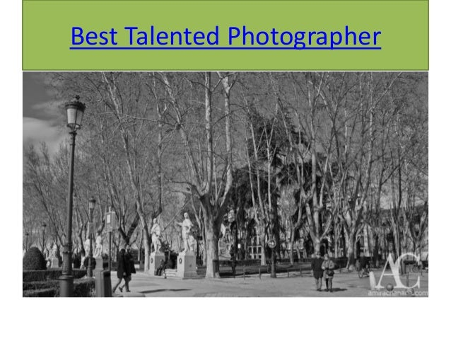 Best Talented Photographer