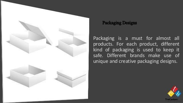 Packaging is a must for almost all products. For each product, different kind of packaging is used to keep it safe. Differ...