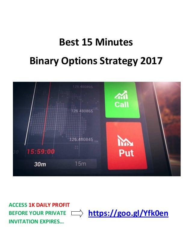 Binary option pairs