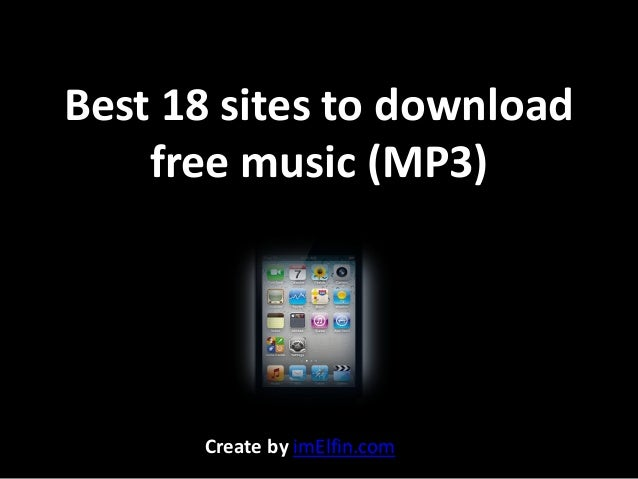 Best 18 sites to download free music to iPod