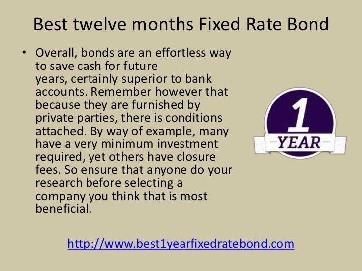 6 Best Twelve Months Fixed Rate Bondo